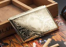 Big Kingsize CIGARETTE CASE - - - Smoker Smoking metal Tin Box gift present