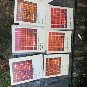 HP-41C and Accessory Manuals Over 30 Documents