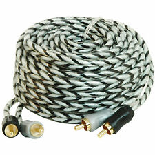 Scosche A17C4 OFC 17ft Car/Home RCA Audio Cable