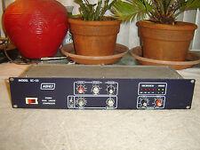 Ashly SC-55, Original Blueface, Stereo Peak Limiter Compressor, Vintage Rack
