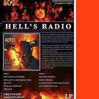 AC/DC - Hell's Radio  The Hammersmith Odeon Broadcast Flaming Vinyl CRLVNY030