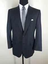 PAUL STUART Vintage Bespoke Wool Suit  Pleated Pants 2 Btn  1 Vent  Fit 44 Reg