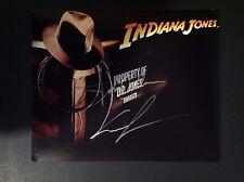 INDIANA JONES SIGNED/AUTOGRAPHED 8X10 GEORGE LUCAS & JOHN WILLIAMS