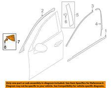 MAZDA OEM 16-18 CX-9 Front Door-Corner Molding Right TK486915Y