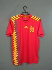 Spain Jersey 2018 2019 Home M Shirt Adidas Football Soccer CX5355 ig93