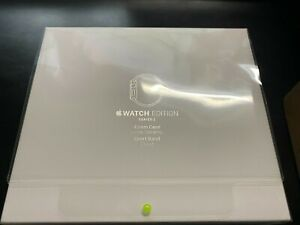 Apple Watch New/Sealed 42mm White Ceramic Edition Cloud Band/2016 Series 2