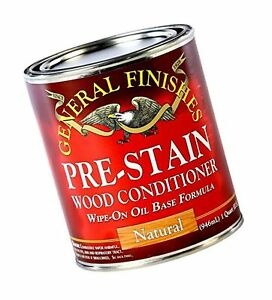 General Finishes Oil Based Pre-Stain Wood Conditioner, 1/2 Pint