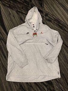 Nike Air Jordan Wings Anorak Elephant Print Jacket Windbreaker Mens Size XL