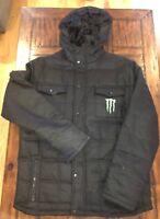 Monster Energy Winter Coat Large Mens NWOT