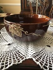 Tabletops Gallery Rustic Grape Large 9-1/4� Serving Bowl
