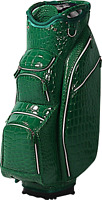 OUUL Alligator Cart Bag 15 way Divider Top in Green Brand New **65% Off Sale**