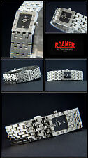 "Roamer Women's Watch "" Dreamline "", 12 Diamonds, Stainless Steel, Folding Clasp,"