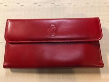BUXTON Red Checkbook Bifold WALLET