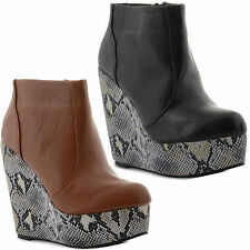 Wedge Zip Unbranded Ankle Women's Boots