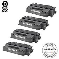 4pk Black Laser Toner Cartridge for Canon 120 2617B001AA ImageClass D1550 D1120