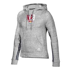 "New York Red Bulls MLS Adidas Women's Grey ""Inner Drop"" Transitional Hoodie"