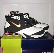 Nike Air SHOX MTX White Black Red  312015-112 Basketball Shoes  SIZE10.5