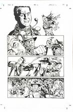 Indiana Jones And The Kingdom Of The Crystal Skull Original Art Page Ross