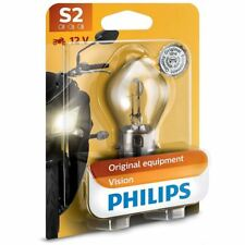 Philips Vision Moto S2 Motorbike Headlight Bulb 12728BW (Single)