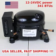 12V 24V DC Refrigeration Compressor Fridge Freezer Marine Solar QDZH35G R134a