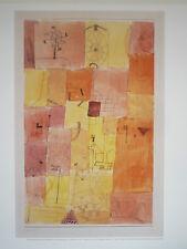 Bilddruck von Paul Klee Blattgröße 57,0 x 49 cm