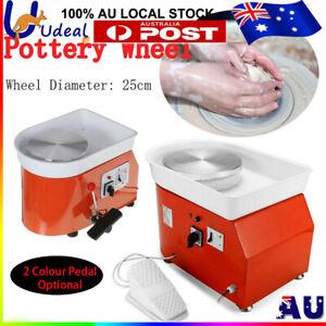 AU Stock 25cm Pottery Wheel Machine Ceramic Work Ceramics Clay Foot Pedal Art