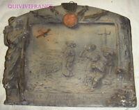 TB551 - PLAQUE MAGASIN LA BELLE JARDINIERE DE MONTLUÇON GUERRE 1870 BLERIOT 1911