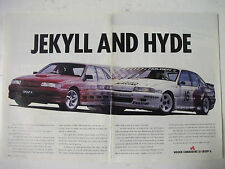 HOLDEN VN COMMODORE SS GROUP A 2 PAGE MAGAZINE ADVERTISEMENT
