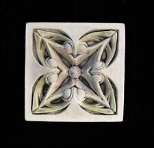 Art Nouveau Floral Garden Gothic Ellison Tile
