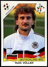 Italia '90 Rudi Voller #209 World Cup Story Panini Sticker (C350)