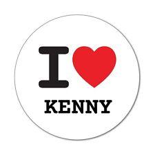 I LOVE Kenny-autocollant sticker décalque - 6cm