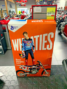RYAN DUNGEY IS #1 WHEATIES CEREAL BOX COLLECTIBLES ONLY