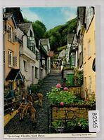 B2565cgt UK Up along Clovelly postcard