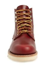 WOLVERINE W40587 1000 Mile Wedge Work Boot Men's Leather Red 12 M NIB