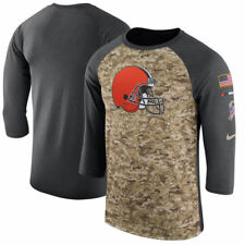 CLEVELAND BROWNS 2017 NIKE DRI FIT SALUTE TO SERVICE MENS SHIRT LARGE