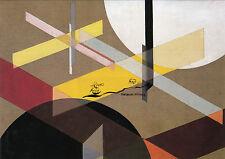 Scheda d'arte: Laszlo Moholy-Nagy-composizione Z VIII