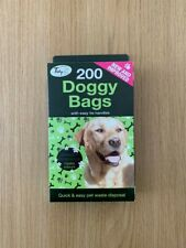 Doggy Bags with Easy Tie Handles - Pack of 200