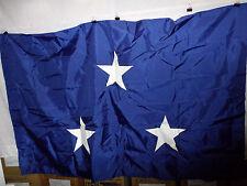 flag560 Us Navy 3 Star Vice Admiral Blue flag