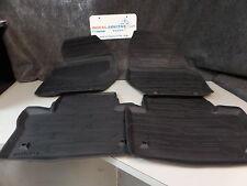 Genuine Volvo S60 S60L INSCRIPTION Black Rubber Floor Mats OE OEM 39835017