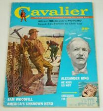 Cavalier Magazine Vol. 10 #86 Aug 1960 - story that sparked Hitchcock's Psycho