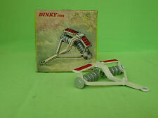 DINKY TOYS   322  DISC HARROW     RARE SELTEN IN EXCELLENT CONDITION BOXED