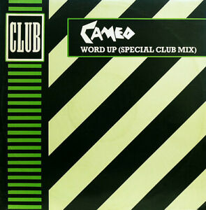 """2nd Vinyl - 12"""" Single – Cameo – Word Up (Special Club Mix)"""