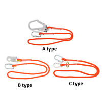 12mm Outdoor Climbing Arborist Safety Lanyard with Snap Hook Fall Protection
