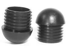 43mm-10plugs Domed Round Plastic Blanking End Cap Caps Tube Insert