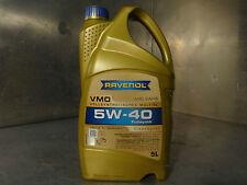 RAVENOL VMO 5W-40 Totalmente sintético Aceite De Motor 5 Litros 1111335