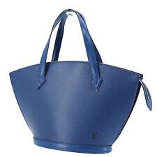 Louis Vuitton Saint Jacques Hand Bag Blue Epi Leather M52265 Authentic #NN874 S