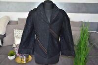 Prada Jacke aus Baumwolle NP.2.990€ Gr38 schwarz *Neuwertig*