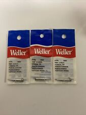 Weller Replacement Tips Ptp8 800f Fits Model Tcptc201 Nos Set Of 3