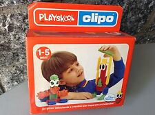 1988  Vintage Playskool Clipo Junior  Nib