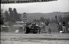 'Freight Train' Twin Engine Dragster @ Riverside - Vintage 35mm Race Negative